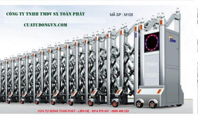 Cong Xep Inox M105