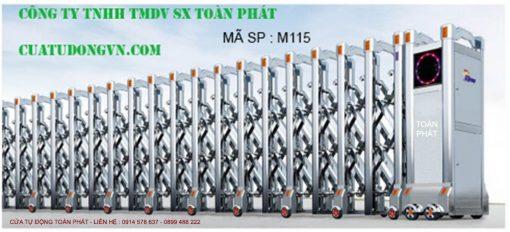 Cong Xep Inox M115