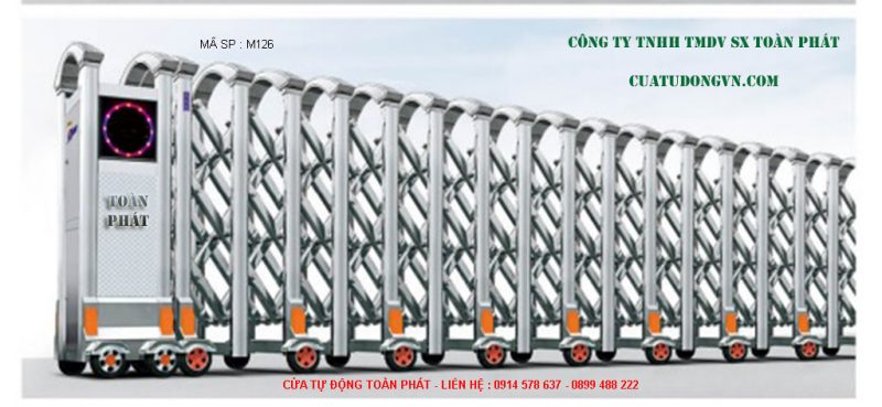 Cong Xep Inox M126